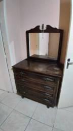 Vendo conjunto quarto antigo madeira