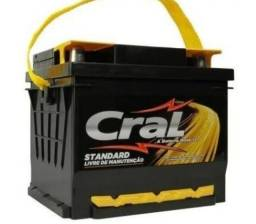 Baterias Cral Nova Lacrada 1 Ano de Garantia Entrega e Teste Grátis