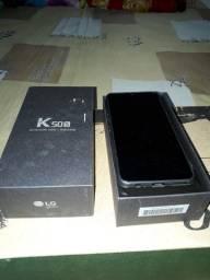 Smartphone k 50 s novo tela 6,5 32 gb na cx