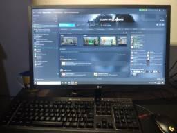 """Monitor LG 23.8"""" modelo 24mk(bk)400h 75hz FULL HD LED"""