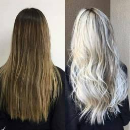 Especialista em mechas de cabelos loiros