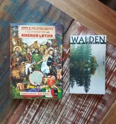 """Livros: """"Guia Politicamente Incorreto da América Latina"""" e """"Walden"""""""