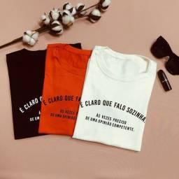 T-shirt Feminina (blusa)