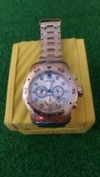 Vende-se Relógio Invicta Original banhado a ouro 18k