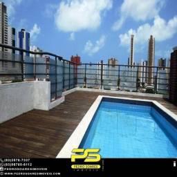 Apartamento com 3 dormitórios à venda, por R$ 290.000 - Tambauzinho - João Pessoa/PB