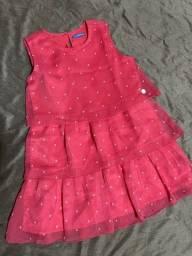**Vestido Hering Kids Tamanho 6** $40.00