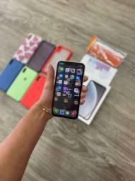 Iphone XR - 128gb 06 Capas anti Impacto Camussa Adesivo Aple nota fiscal