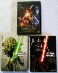 Dvd Filme Star Wars.    (7dvds)