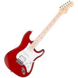 Guitarra Strato Michael Hss E Mx-7 Gm237n Mr Metallic Red