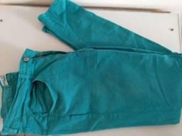 Calça azul 40