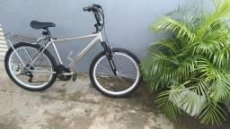 Bicicleta alumínio aro26