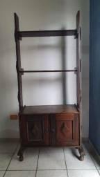 Estante/armário madeira maciça