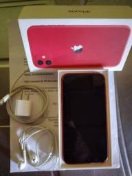 Vendo iPhone 11 na cor RED completo !!!