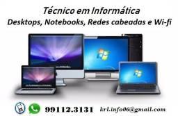 Técnico de Informática - Formatação, Instalação e Redes