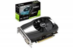 Placa De Vídeo Ddr6 4Gb/128 Bits Asus Gtx1650 Super, Geforce, Ph-Gtx1650S-O4G