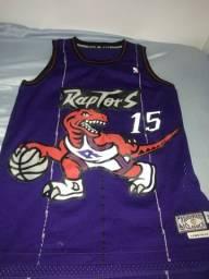 Camisa NBA toronto raptors retrô