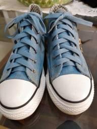 Tênis jeans feminino