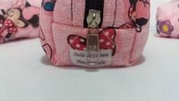 Mini Nécessaire ou porta moedas personagem Minnie
