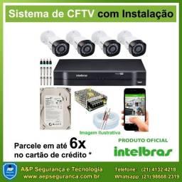 Kit de câmeras de segurança CFTV intelbras a partir de R$ 1.299,00 - Acesso pelo celular