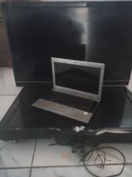 Duas TV  um notebook com defeito 250
