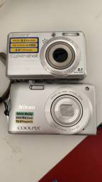 Cameras Sony e Nikon