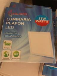 PAFLON EMBUTIR LED 17x17 | 18 WATTS
