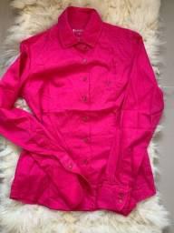 Camisa pink Dudalina
