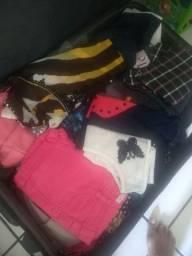 Lote de roupa para brechó 70 peças
