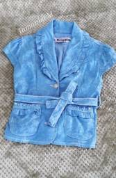 Jaqueta colete jeans Nova