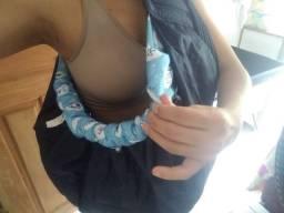 Bolsa canguru de passeio para bebê