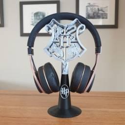 Suporte para headset personalizado Harry Potter
