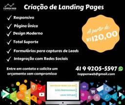 Criação de Landing Page ou Página de Captura de Leads