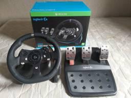 Volante Logitech G920 (PC e Xbox One)