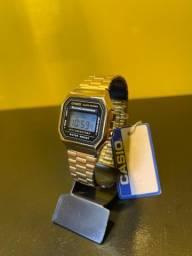 Casio Retro prata com garantia