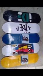 Shape marfim Ide Skateboards vários tamanhos