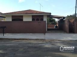 Casa com 3 dormitórios para alugar, 120 m² por R$ 850,00/mês - Jardim Alvorada - Maringá/P