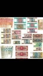 Lote dinheiro antigo