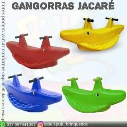 Gangorras Jacaré - Varias Cores - Parcelamos em até 3X no cartão