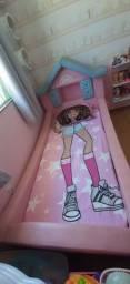 Vendo Cama Infantil Rosa Modelo Castelo