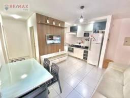 Apartamento com 2 dormitórios para alugar, 50 m² por R$ 850,00/mês - Vale Quem Tem - Teres