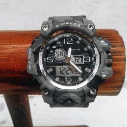Relógio Militar Camuflagem S-Waves