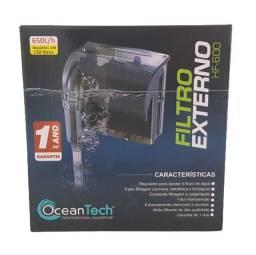 Hf600 Filtro Externo Aquário ate 130 litros Hang On Ocean Tech  650l/h 127v