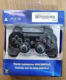 Controle Videogame Sony PS3 DualShock 3 novo