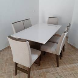 mesa de jantar 6 cadeira//entrega e montagem na hora