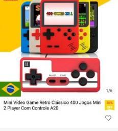 Mini game 400 em 1 c/ controle para TV