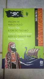 Livro viagens de Marco Polo, Ilha do tesouro e Além do grande mar