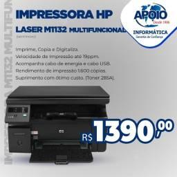 Vende-se impressora multifuncional hp laserjet pro m1132 mfp