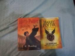 2 livros do Harry Potter