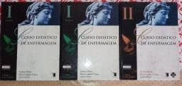 Coleção completa CURSO DIDÁTICO DE ENFERMAGEM