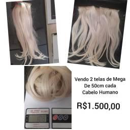 Mega Hair -Cabelo humano